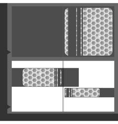 Brochure template business vector
