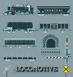 Model train collection vector