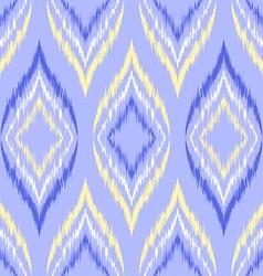 Seamless ikat wallpaper vector
