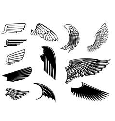 Heraldry design vector