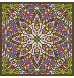 Hand-drawn colored bandana vector