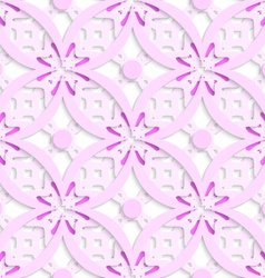 Pink complicated layered seamless vector