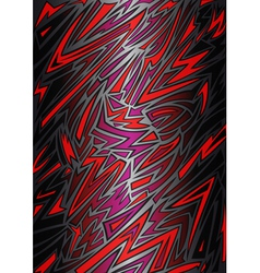 Abstract background in graffiti style vector