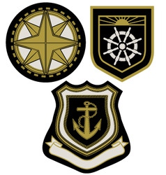 Emblem badge vector
