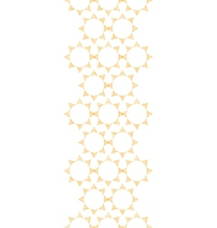 Abstract textile golden suns geometric vertical vector