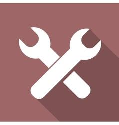 Repair web icon vector