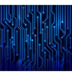 Abstract circuit board vector