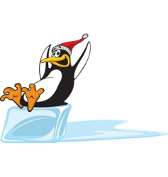 Sliding penguin vector