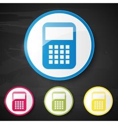 Web element calculator vector