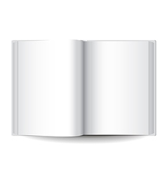 Object white book vector