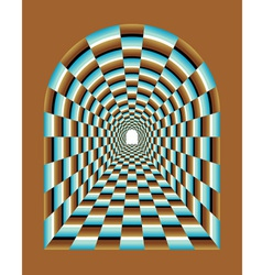 Abstract tunnel vector