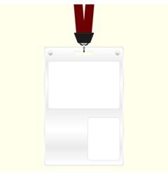 Id badge vector