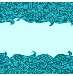 Seamless abstract waves vector