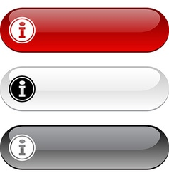 Info button vector