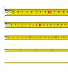 Tape measure in centimeters vector
