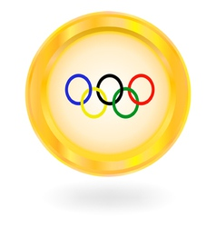 Olympic rings vector