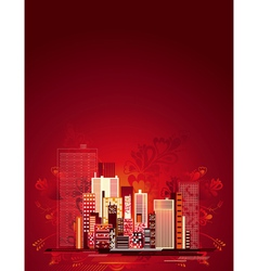 Urban background vector