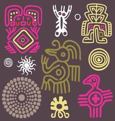American indian ornament vector