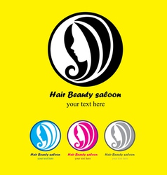 Hair beauty saloon vector