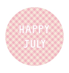 Happy july background4 vector