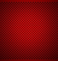 Red carbon background vector