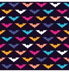 Colorful bats vector