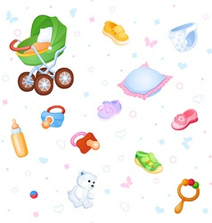 Childish background vector