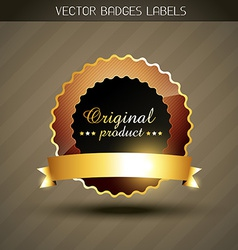 Original product label vector