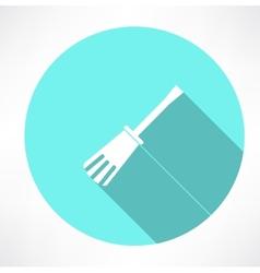 Spatula icon vector