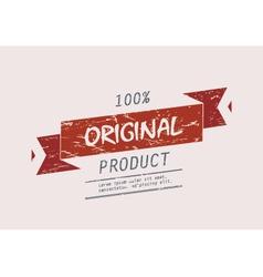 Original product vector