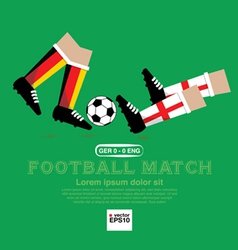 Football match eps10 vector
