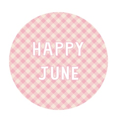 Happy june background4 vector