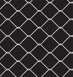Wire fence seamless pattern vector