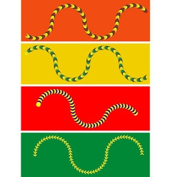 Moving snake vector