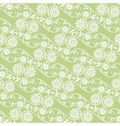 Background swirling floral elements vector