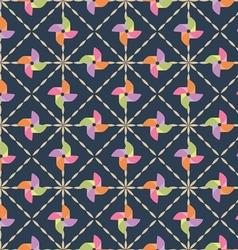 Pinwheel pattern vector