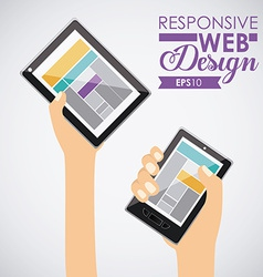 Gadget design vector
