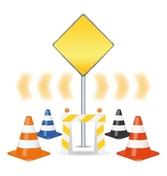 Traffic signs set vector