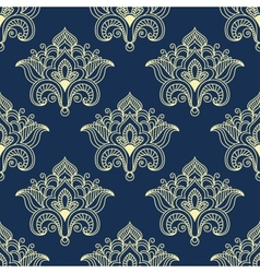 Persian paisley seamless pattern vector