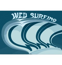 Web surfing vector