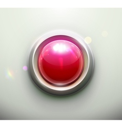 Emergency button vector