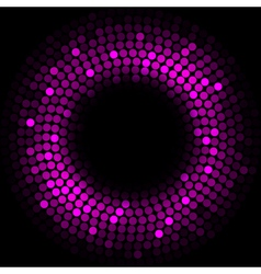 Purple lights - background vector