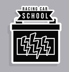 Racing design vector