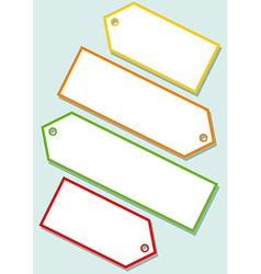 Blank labels vector