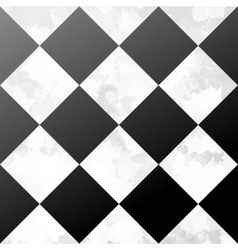 Ceramic chessboard floor vector