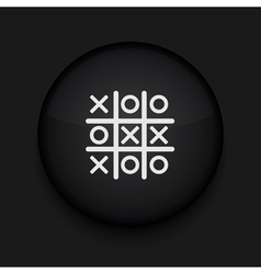 Tic tac toe icon eps10 easy to edit vector