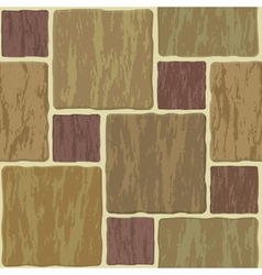 Seamless stonewall tile vector