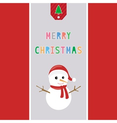 Merry christmas greeting card38 vector