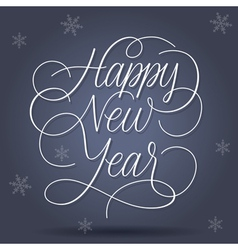 Happy new year greetings vector
