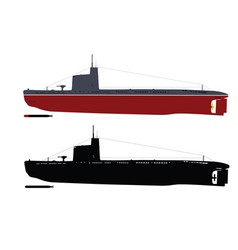 Submarine vector